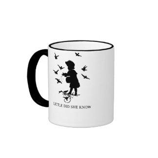 Little Did She Know Ringer Mug
