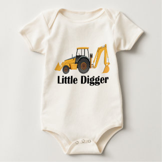 Little Digger - Baby American Apparel Organic Body Baby Bodysuit