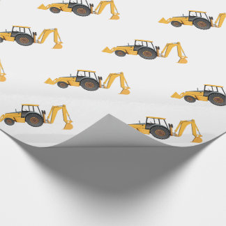 "Little Digger - Glossy Wrapping Paper, 30"" x 6' Wrapping Paper"
