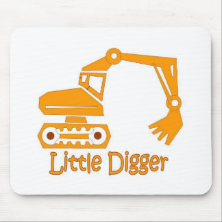 little digger mouse pad
