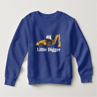 Little Digger - Toddler Fleece Sweatshirt Sweatshirt