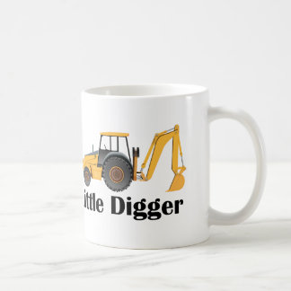Little Digger - White 11 oz Classic White Mug Coffee Mug