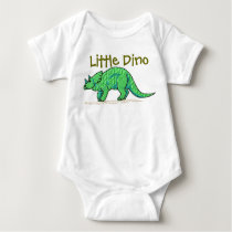 Little Dino Baby Bodysuit