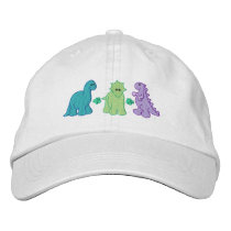 Little Dinosaurs Embroidered Baseball Cap