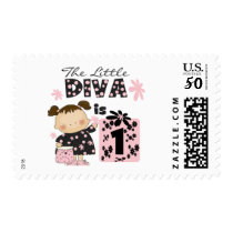 Little Diva 1st Birthday Tshirts and Gifts Postage
