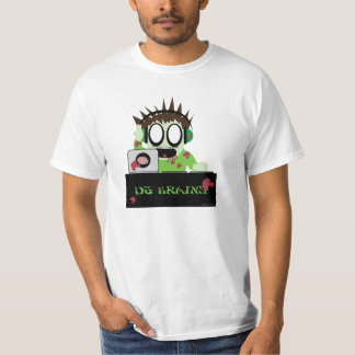 Little DJ Zombie T Shirt