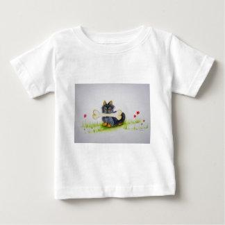 Little Dog Big Bone ( Yorkshire terrier ) Baby T-Shirt