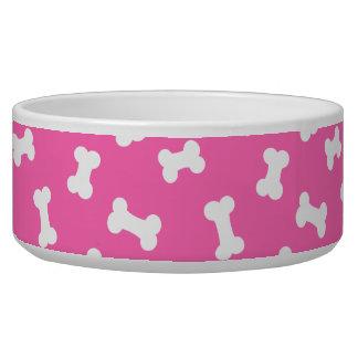 Little Dog Bones Hot Pink Pooch Bowl