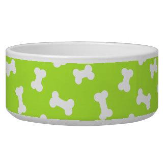 Little Dog Bones Olive Pooch Bowl