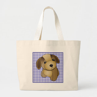 Little Dog Design Jumbo Tote Bag
