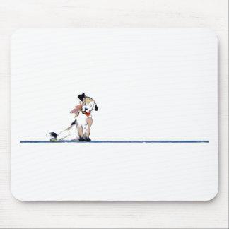 Little Dog Divider Mousepad