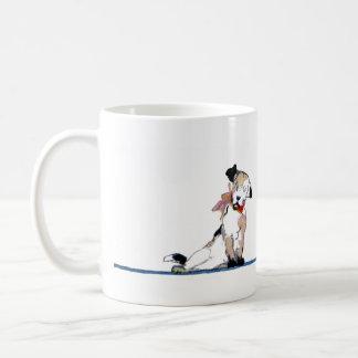 Little Dog Divider Coffee Mugs