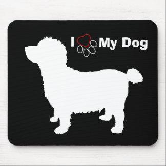 Little Dog, I Love My Dog Mouse Pad