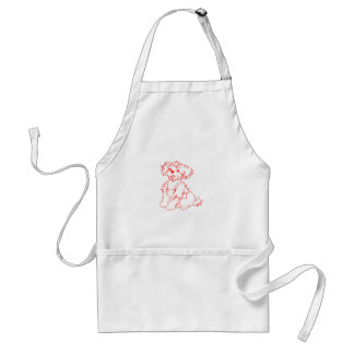 Little Dog Laughed Adult Apron