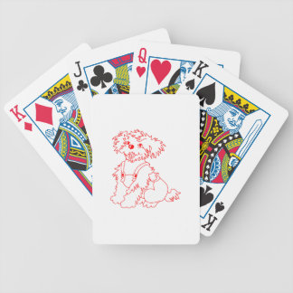 Little Dog Laughed Bicycle Playing Cards