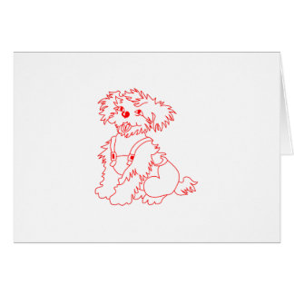 Little Dog Laughed Card