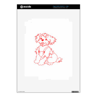 Little Dog Laughed Decal For The iPad 2