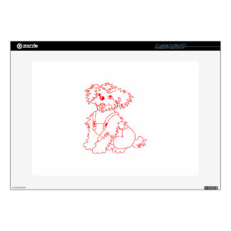 Little Dog Laughed Laptop Decal