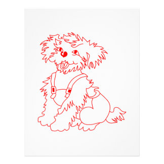 Little Dog Laughed Letterhead