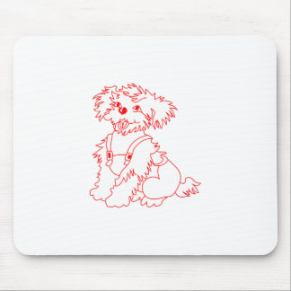 Little Dog Laughed Mouse Pad