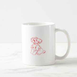 Little Dog Laughed Classic White Coffee Mug