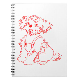 Little Dog Laughed Note Book