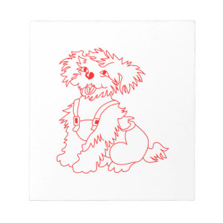 Little Dog Laughed Notepad
