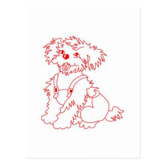 Little Dog Laughed Postcard