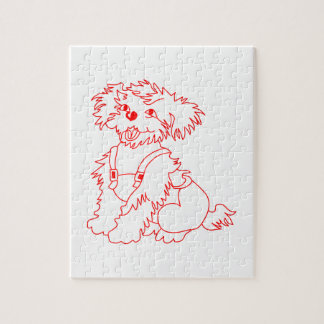 Little Dog Laughed Jigsaw Puzzle