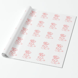 Little Dog Laughed Wrapping Paper