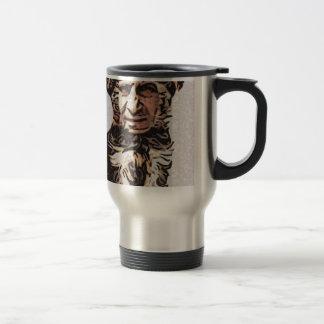 Little Dog Man 15 Oz Stainless Steel Travel Mug