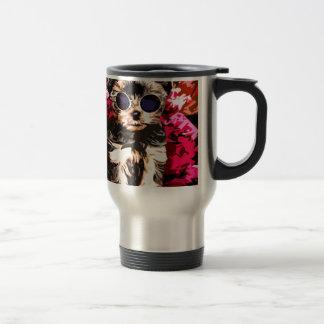 Little Doggy style 15 Oz Stainless Steel Travel Mug