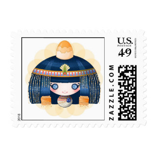 Little dollie Egyptian Postage Stamps