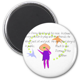 """""""Little Donny""""  Story Art Cards and T-Shirts Fridge Magnet"""