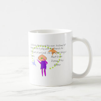 """Little Donny""  Story Art Cards and T-Shirts Coffee Mug"