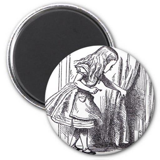 Little Door Fridge Magnet