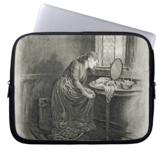 Little Dorrit, from 'Charles Dickens: A Gossip abo Laptop Computer Sleeves