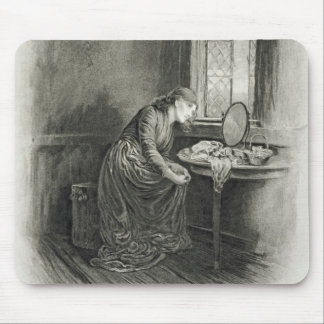 Little Dorrit, from 'Charles Dickens: A Gossip abo Mouse Pad