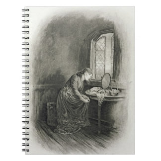 Little Dorrit, from 'Charles Dickens: A Gossip abo Spiral Note Books