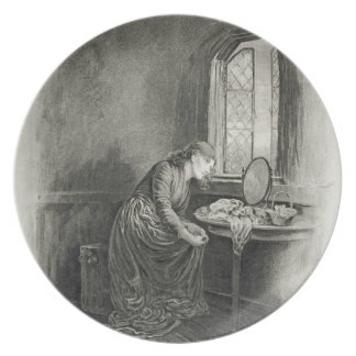 Little Dorrit, from 'Charles Dickens: A Gossip abo Party Plates