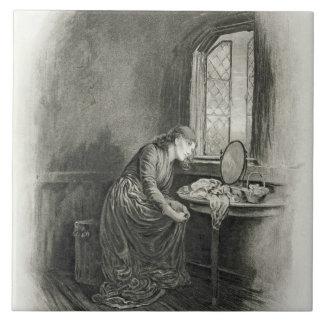 Little Dorrit, from 'Charles Dickens: A Gossip abo Tile