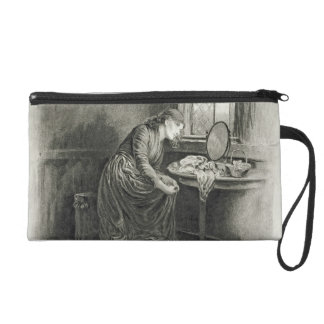 Little Dorrit, from 'Charles Dickens: A Gossip abo Wristlet Purse