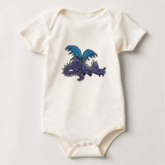 Little Dragon Baby Bodysuit