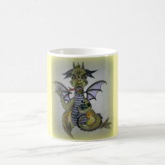 Little Dragon Buttercup. Dragon Mug. Coffee Mug
