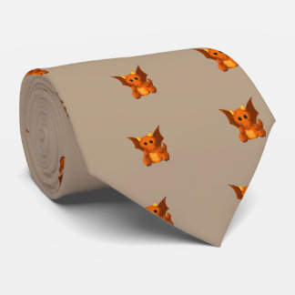 """Little Dragon"" Neck Tie"