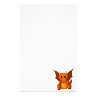 """Little Dragon"" Stationery"