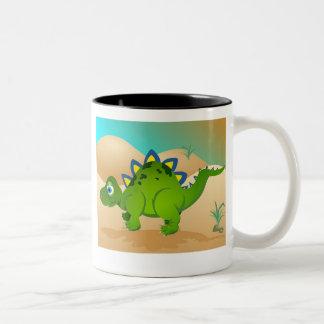 Little Dragon Two-Tone Coffee Mug