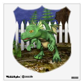 Little Dragon Wall Sticker