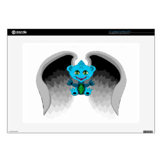 """Little Dragon with Wings Decal For 15"""" Laptop"""