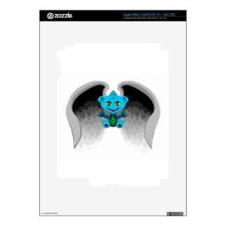 Little Dragon with Wings iPad 3 Decal